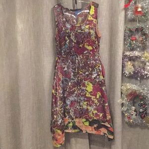 Dress - VERA WANG - STAIN GLASS - Polyester LARGE